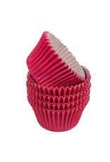 Cerise baking cups (per 360 stuks)