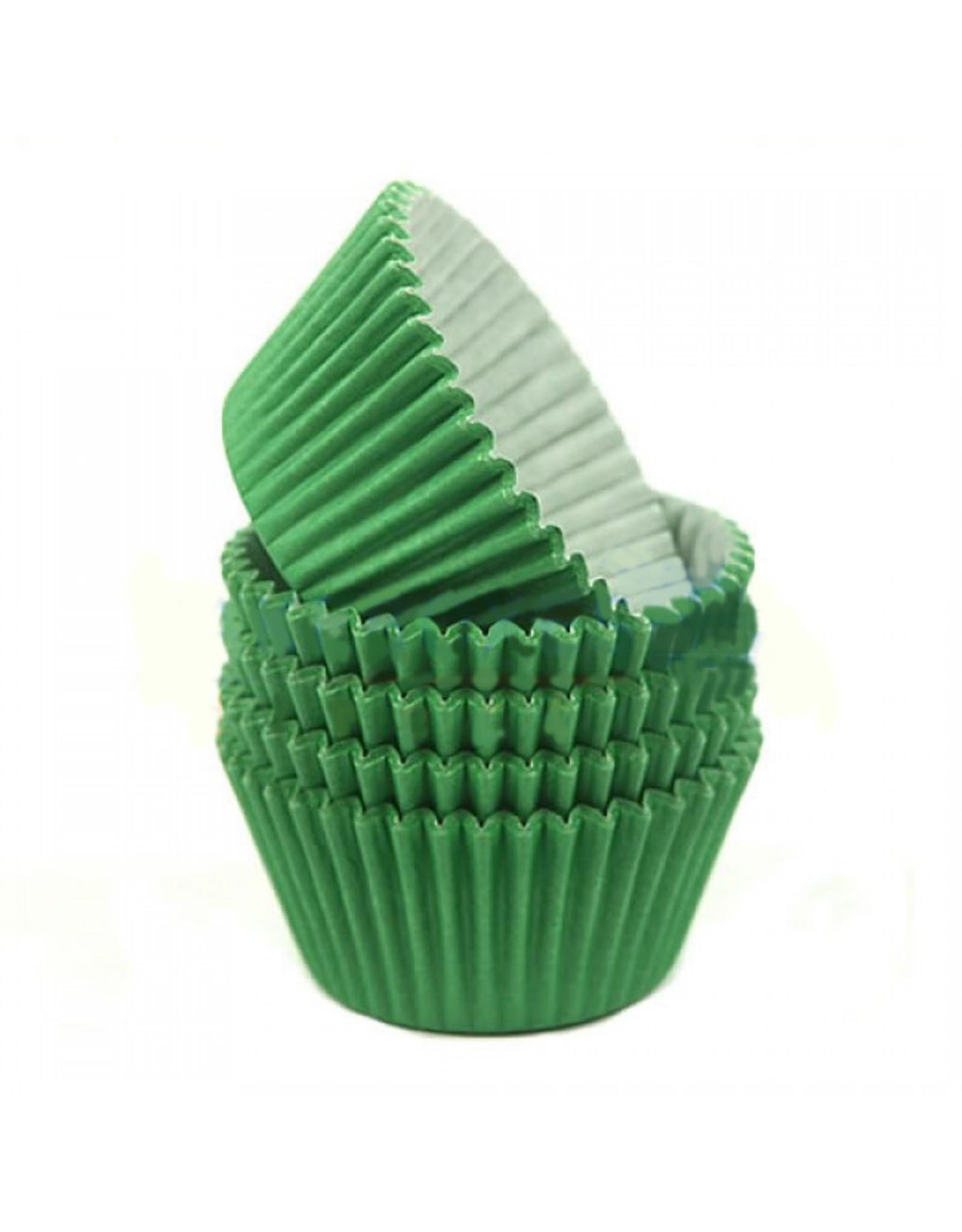 Groene baking cups (per 360 stuks)