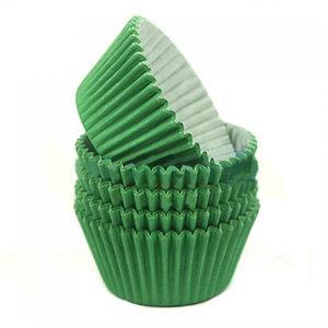 Green baking cases (360 pcs.)