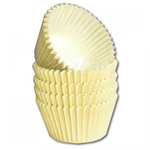 Ivoor baking cups (per 360 stuks)