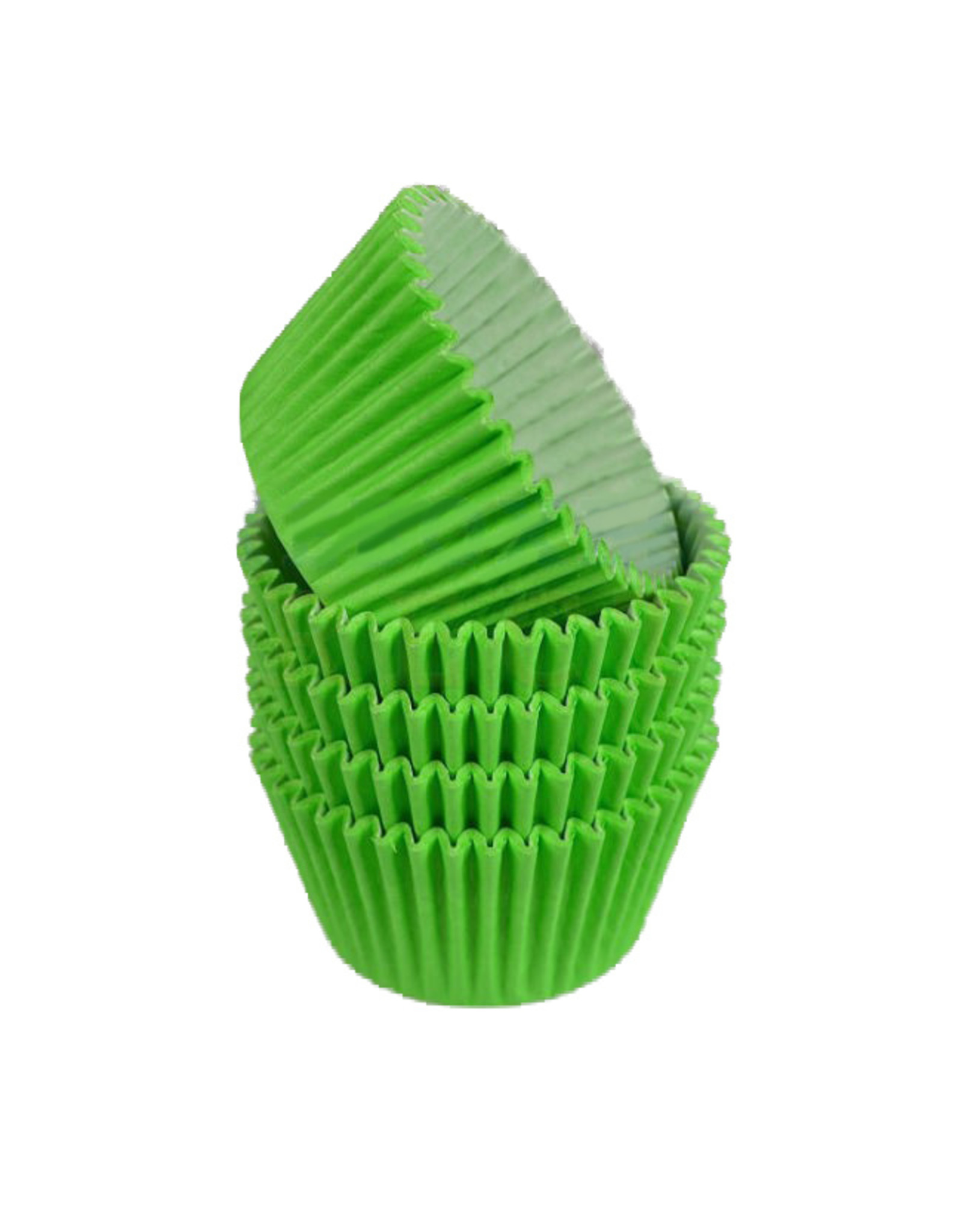 Lime green baking cases (per 360 pieces)