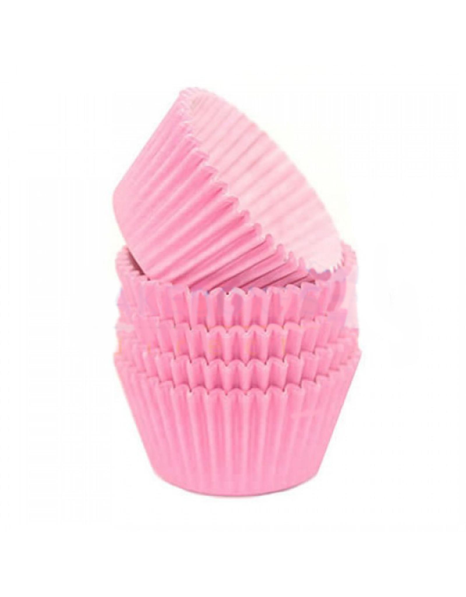 Roze baking cups (per 360 stuks)