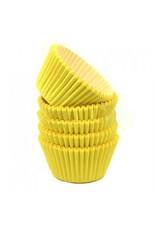 Gele baking cups (per 360 stuks)