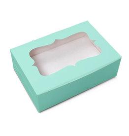 Mint box for 6 cupcakes (10 pcs.)