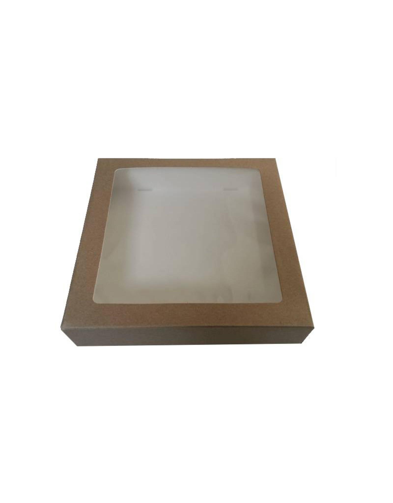 Kraft window box (multiple sizes)