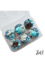 Transparante doos voor 6 cupcakes (per 240 stuks)