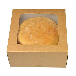 Kraft cake box - 18x18x10 (25 pcs.)