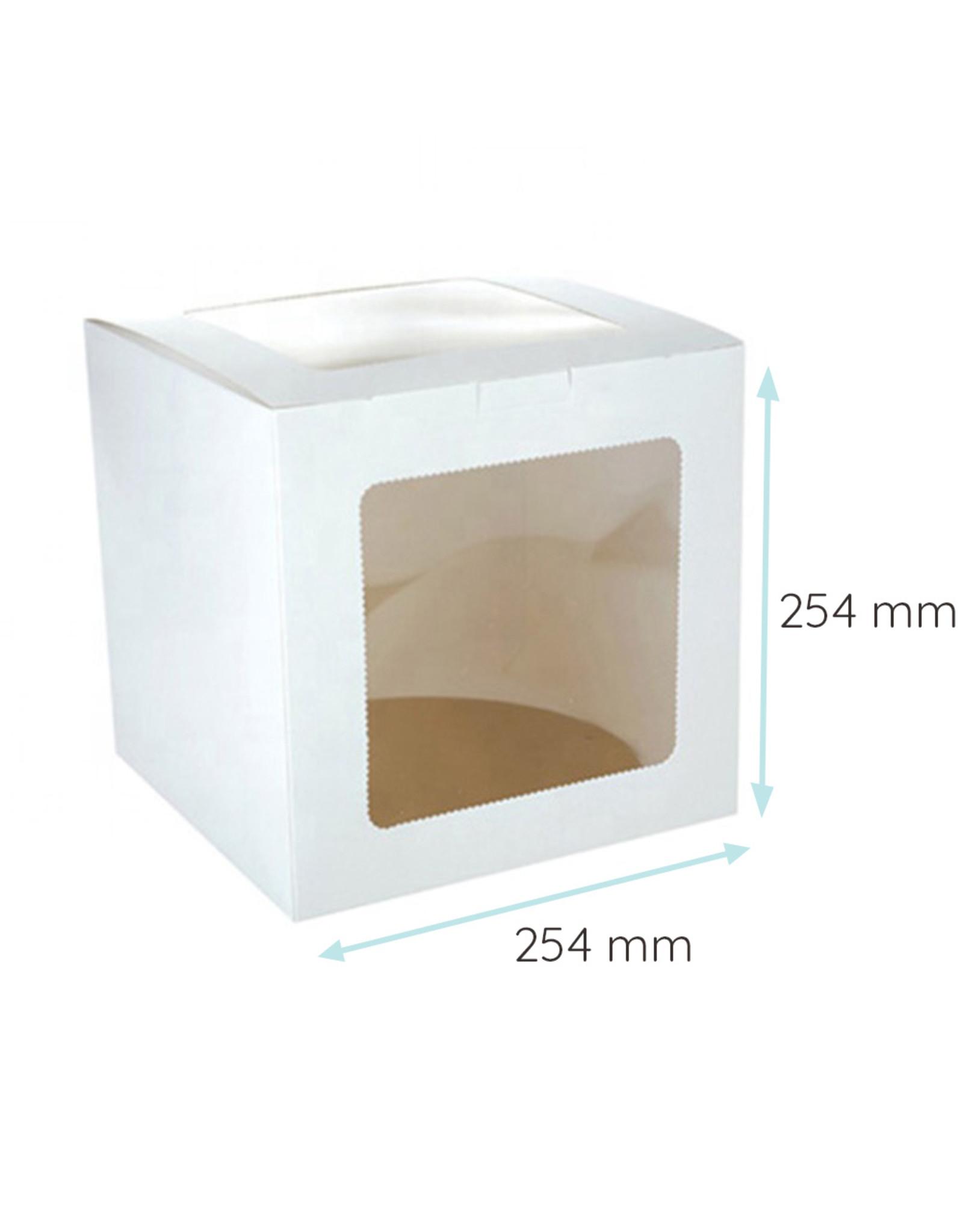 Economy tall cake box - 254 x 254 x 254 cm (10 pcs.)