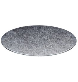 Cake boards Ø406 mm - silver (per 10 pcs.)