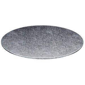 Cakeboards Ø355 mm - zilver (per 10 st.)