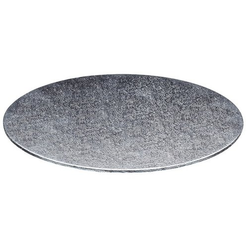 Cake boards Ø355 mm - silver (per 10 pieces)