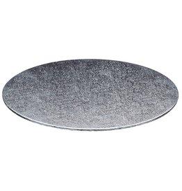 Cakeboards Ø304 mm - zilver (per 10 st.)