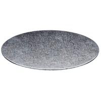 Cake boards Ø254 mm - silver (per 10 pcs.)