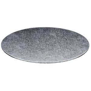 Cakeboards Ø178 mm - zilver (per 10 st.)