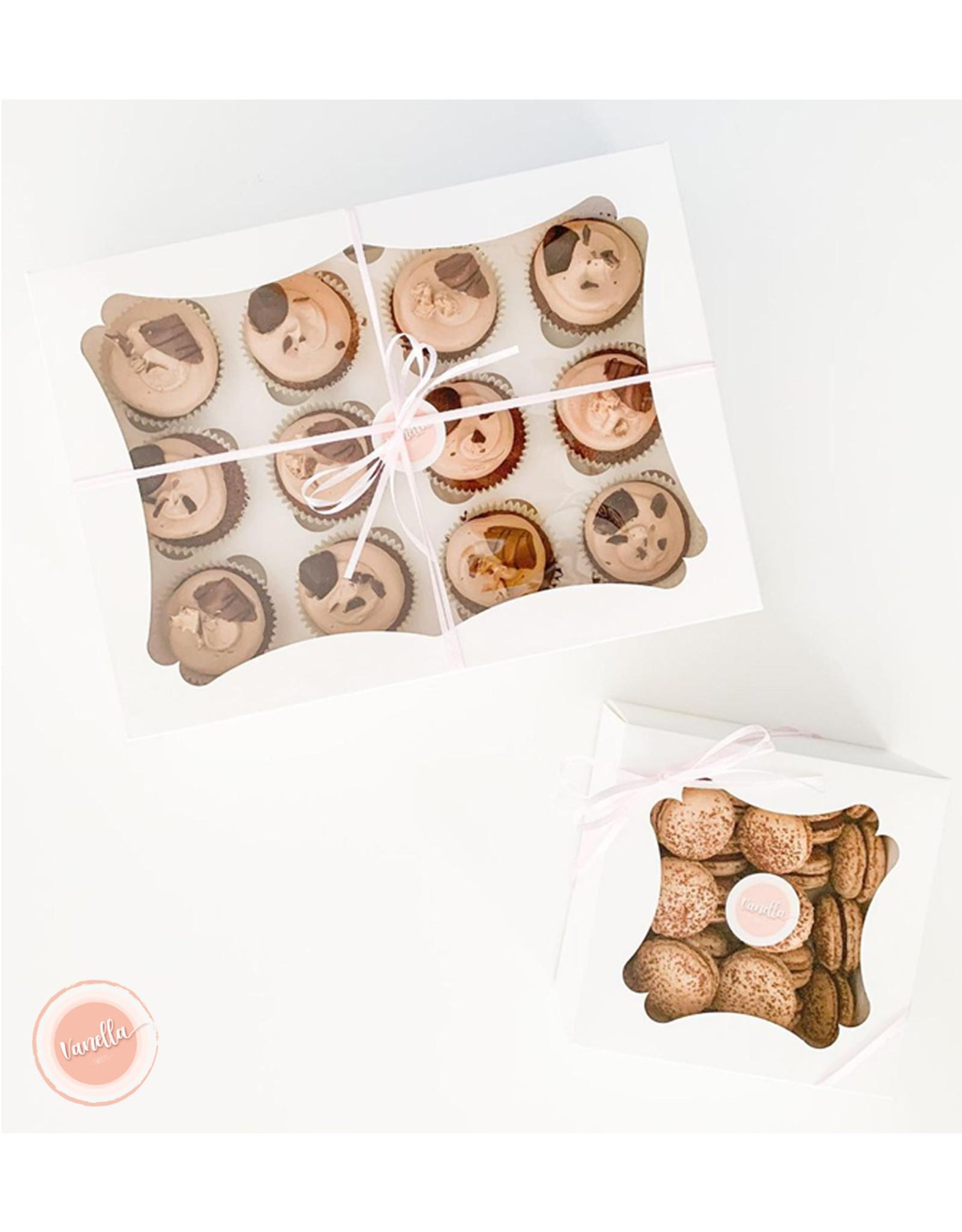 Budget doos voor 4 cupcakes (per 25 stuks)