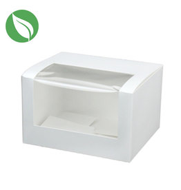 Biodegradable box - 13x11x8 (400 pcs.)