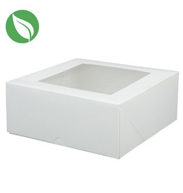 Biodegradable box - 18x18x7,5 (50 pcs.)