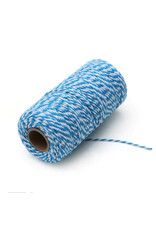 Twine blue/white (100 meters)
