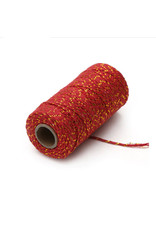 Twine red/gold (100 meters)