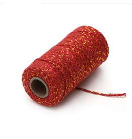 Twine red/gold (100 m.)