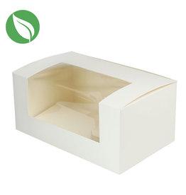 Biologische doos voor 2 cupcakes (50 st.)