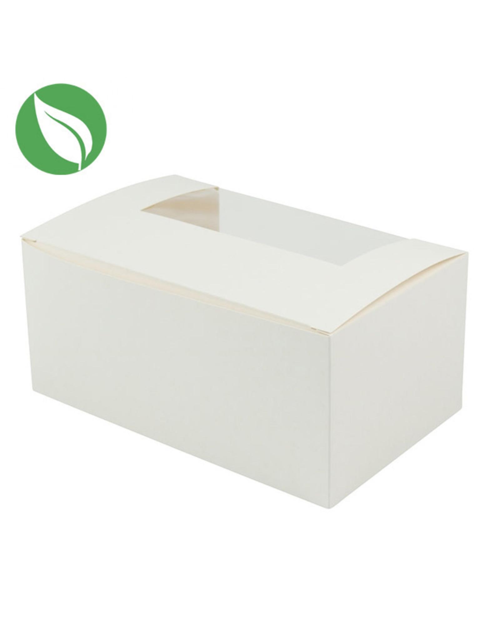 Biologische doos voor 2 cupcakes (per 50 stuks)