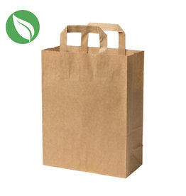 Kraft 1 and 2 cupcake carrier bag (250 pcs.)