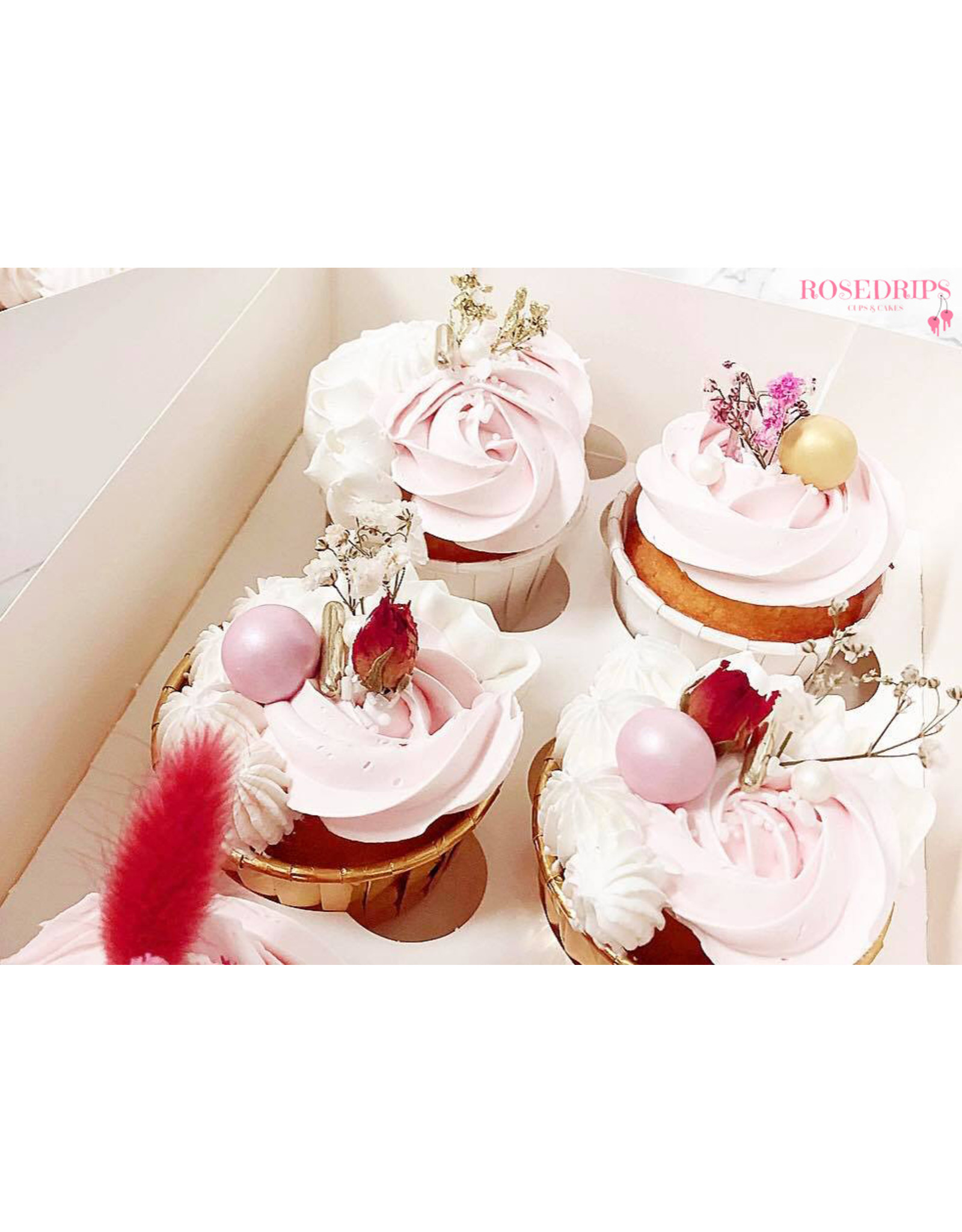 LAST STOCK Cupcake liners gold (50 pieces)