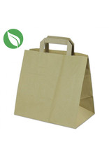 Kraft 6 cupcake paper carrier bag - sustainable (per 250 pieces)