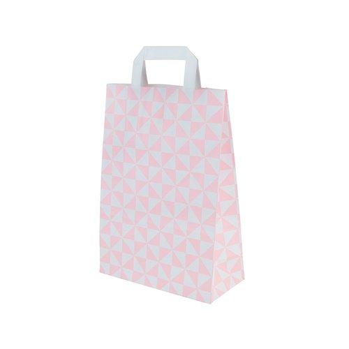 Pink 1 and 2 cupcake carrier bag (250 pcs.)