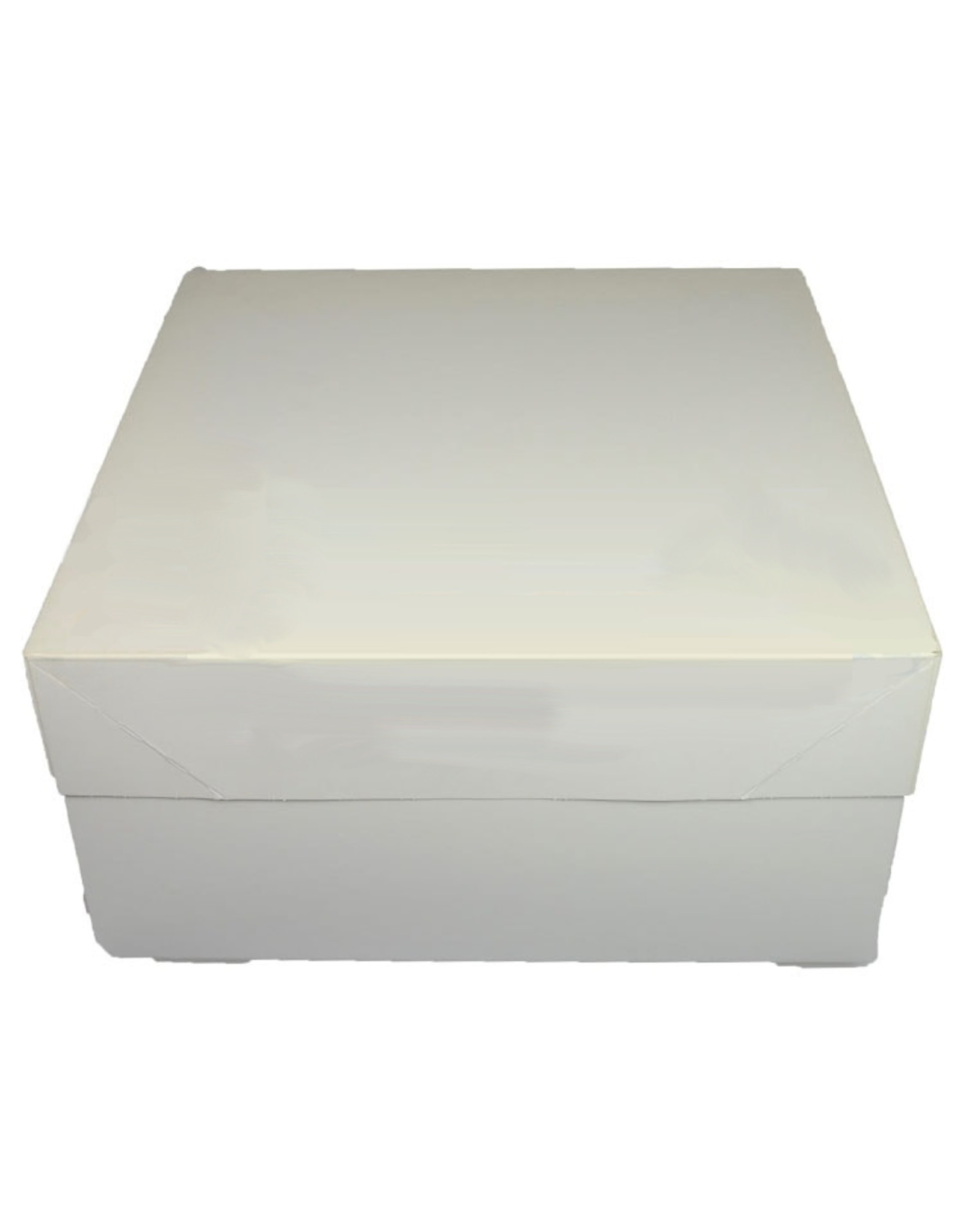 Folding 2 piece cakebox - 25 x 25 x 15 cm (50 pieces)