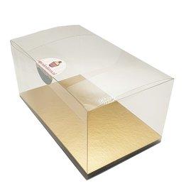 Transparante sweets box - 17,5x10x8 (100 st.)