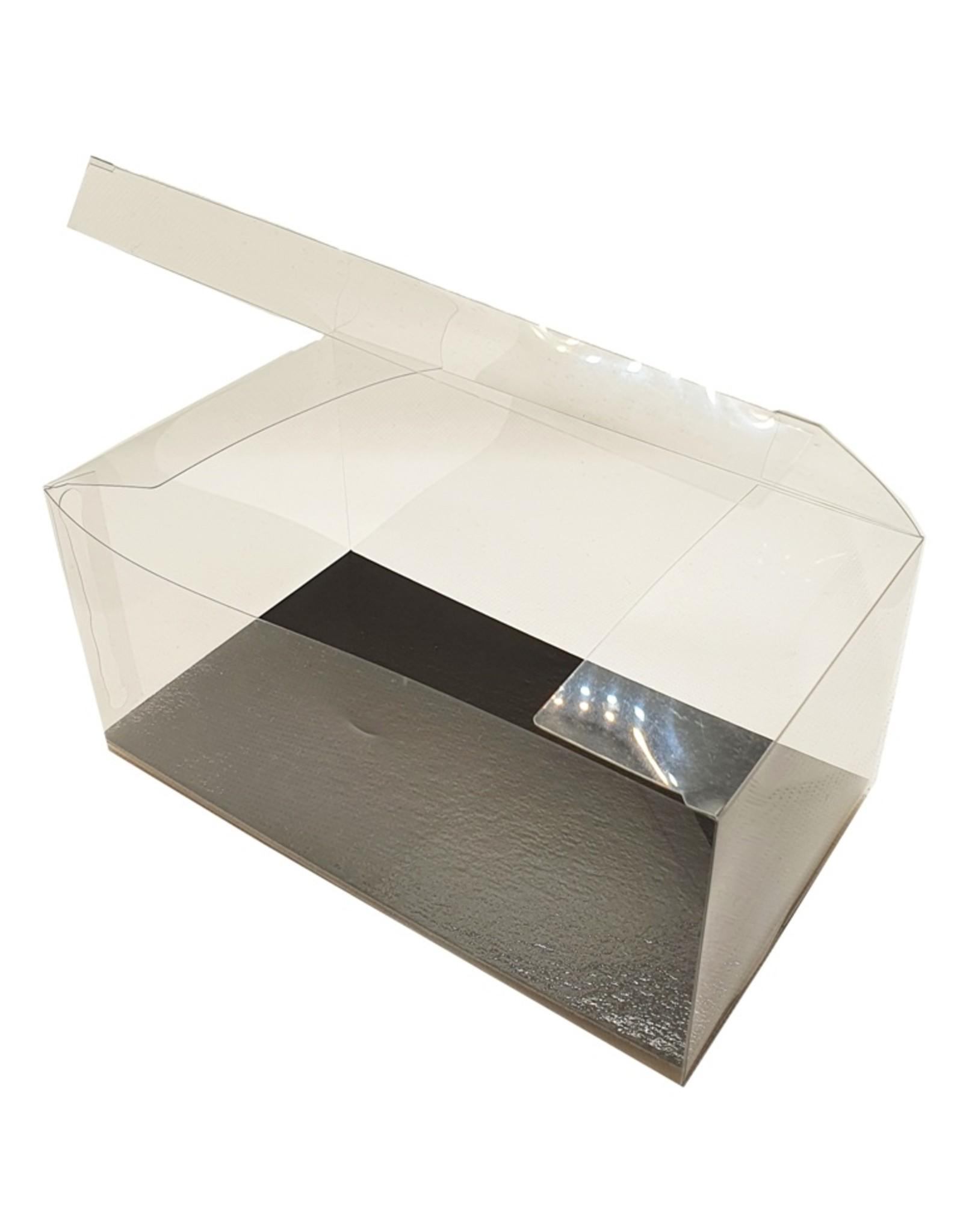 Transparante sweets box - 17,5 x 10 x 8 cm  (per 100 stuks)
