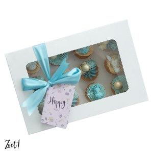 Economy box for 12 mini cupcakes (10 pcs.)