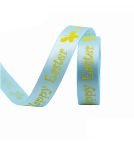Ribbon Easter - blue (90 meters)