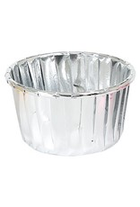 LAST STOCK Cupcake liners silver (50 pieces)
