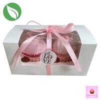 Biodegradable box for 2 cupcakes (50 pcs.)
