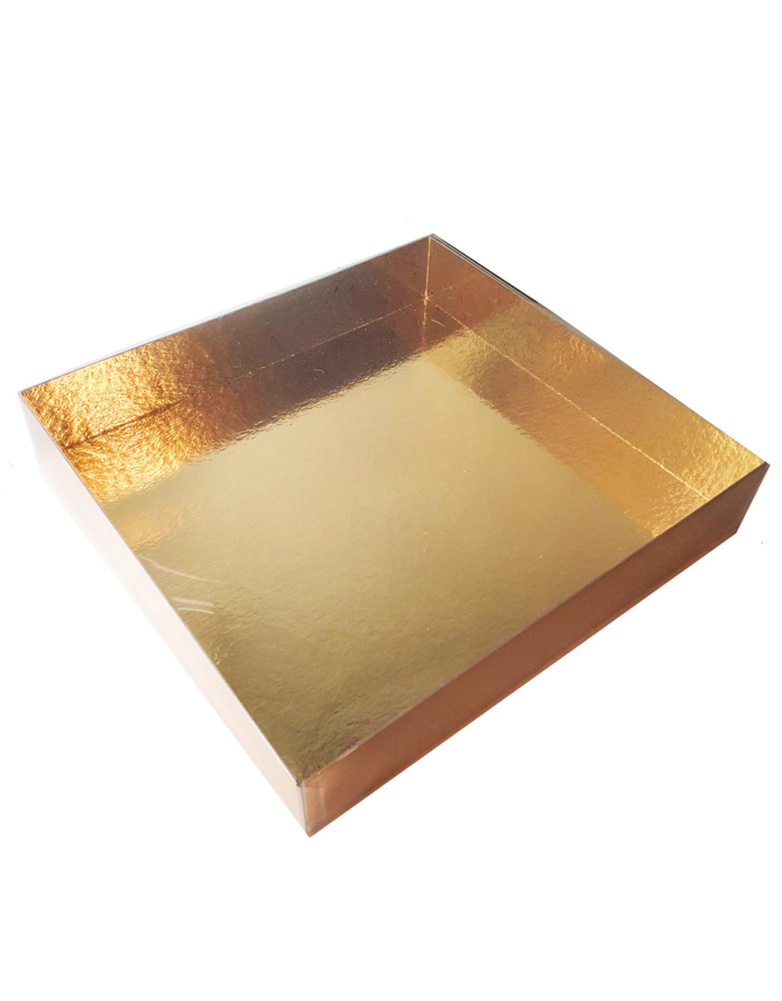 Transparante sweets box - 260 x 245 x 45 mm (per 60 stuks)