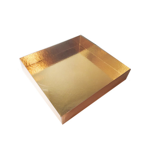 Clear sweets box - 260 x 245 x 45 mm (per 60 pieces)