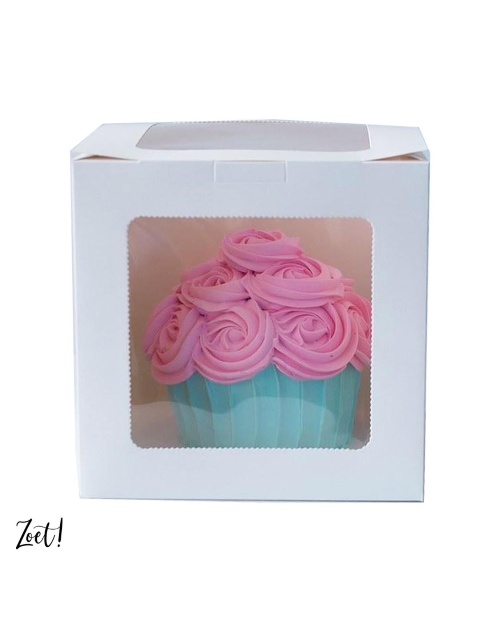 Voordelige hoge taartdoos - 254 x 254 x 254 cm (per 10 stuks)