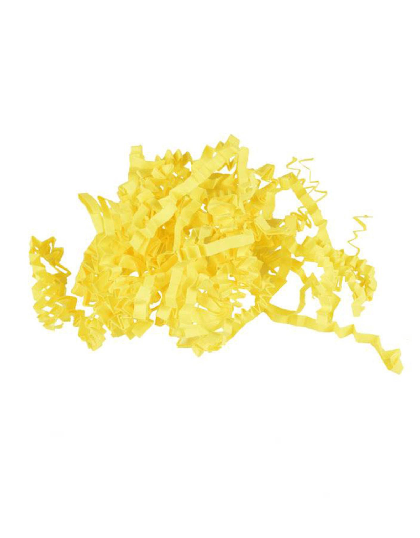 Opvulmateriaal zigzag - geel (1,25 kg)