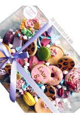 Clear sweets box - 30 x 20 x 10 cm (per 50 pieces)