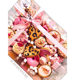 Transparante sweets box - 30x20x10 (50 st.)