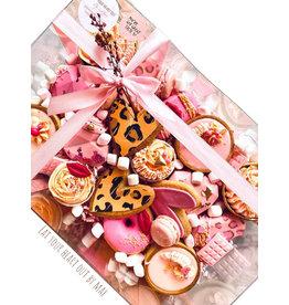 Transparante sweets box - 30x20x10 (50 st.)