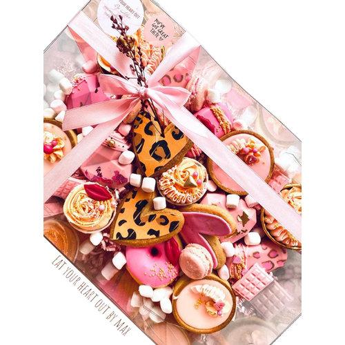 Clear sweets box - 30x20x10 (50 pcs.)