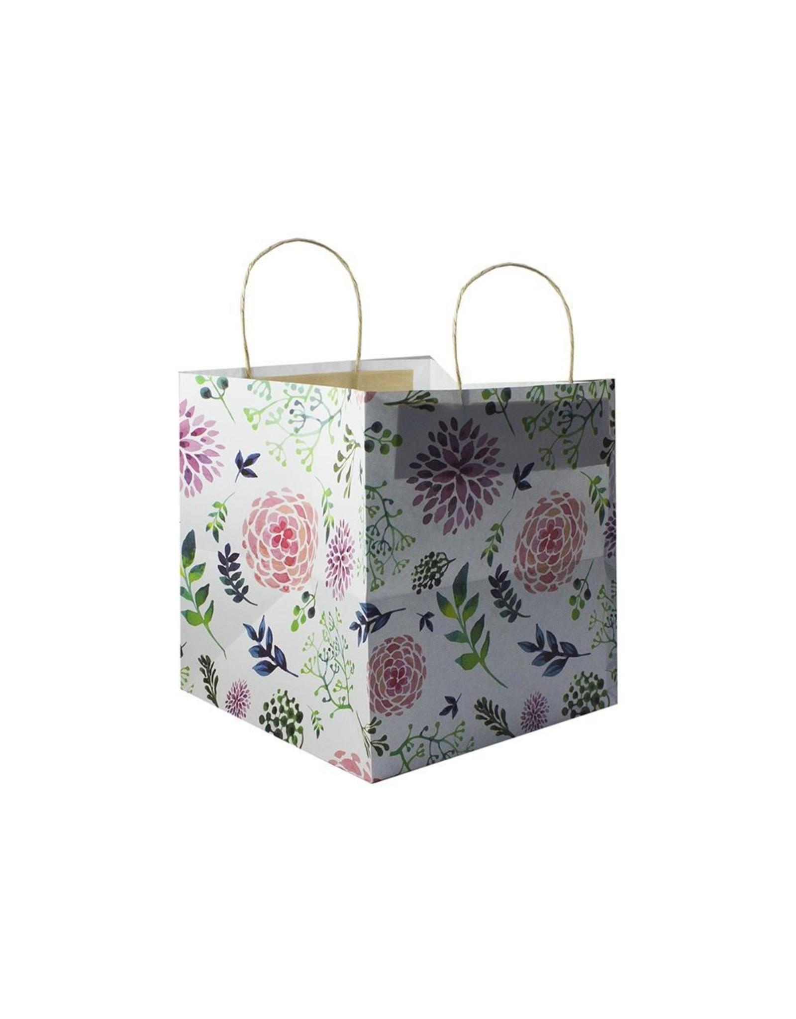Fleurige tas - klein (per 10 stuks)