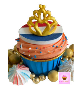 Cupcake liners blue & gold (50 pcs.)