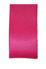 Double face satin ribbon - Fuchsia (25 m.)