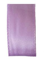 Double face satin ribbon - Lilac (25 m.)