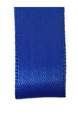 Double face satin ribbon - Blue (25 m.)